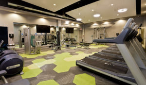MetroFit Reinhold Residential's apartment fitness center in Philadelphia