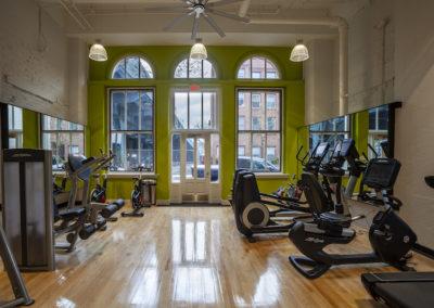Chocolate Works Philadelphia apartment on-site fitness center