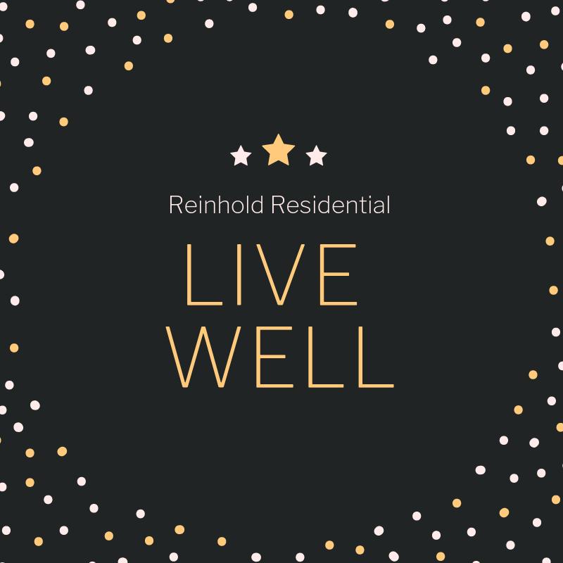 Reinhold Residential Live Well Logo