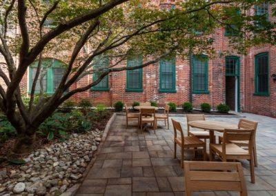 Courtyard Sitting Area