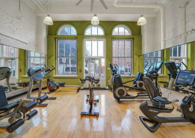 Chocolate Works Apartments Fitness Center