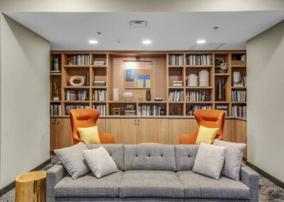 Chocolate Works resident lounge